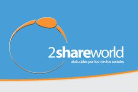 Logo 2shareworld - Social Media Marketing