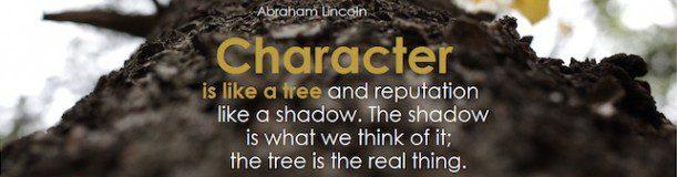 Una frase sobre la reputación de Abraham Lincoln