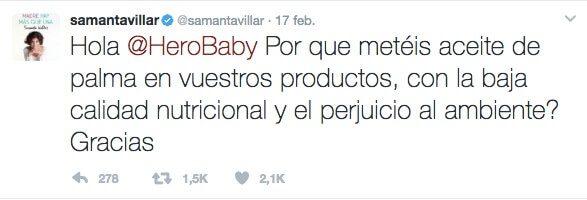Samanta Villar responde a Hero Baby de la mejor manera posible: ¿no tienes tu problemas internos en los que fijarte?