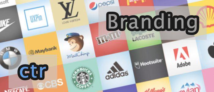 Branding vs. CTR